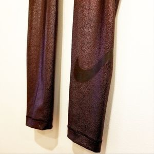 Nike Pro Dri-fit Women's Rose Gold Leggings
